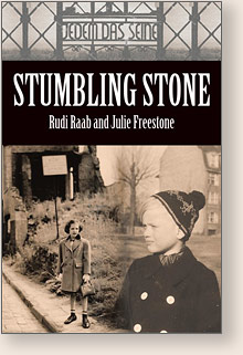 Cover of book, Stumbling Stone
