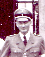 Rudi's father, whose rank in the Nazi party was Hauptbannfuerher