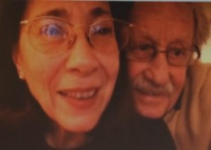 Isolde Haug-Schoenhaar and her husband Harald Schoenhaar on a recent Skype call